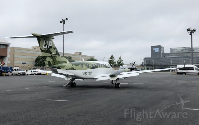 Beechcraft Super King Air 350 (N820UP) - 1st Camo upload 06/24/2020