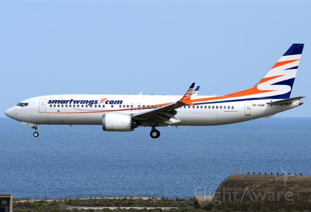 Boeing 737 MAX 8 (OK-SWM)