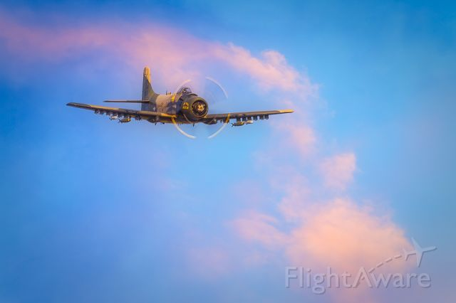 REARWIN Skyranger (NX965AD) - Douglas A-1 Skyraider 'The Proud American'.