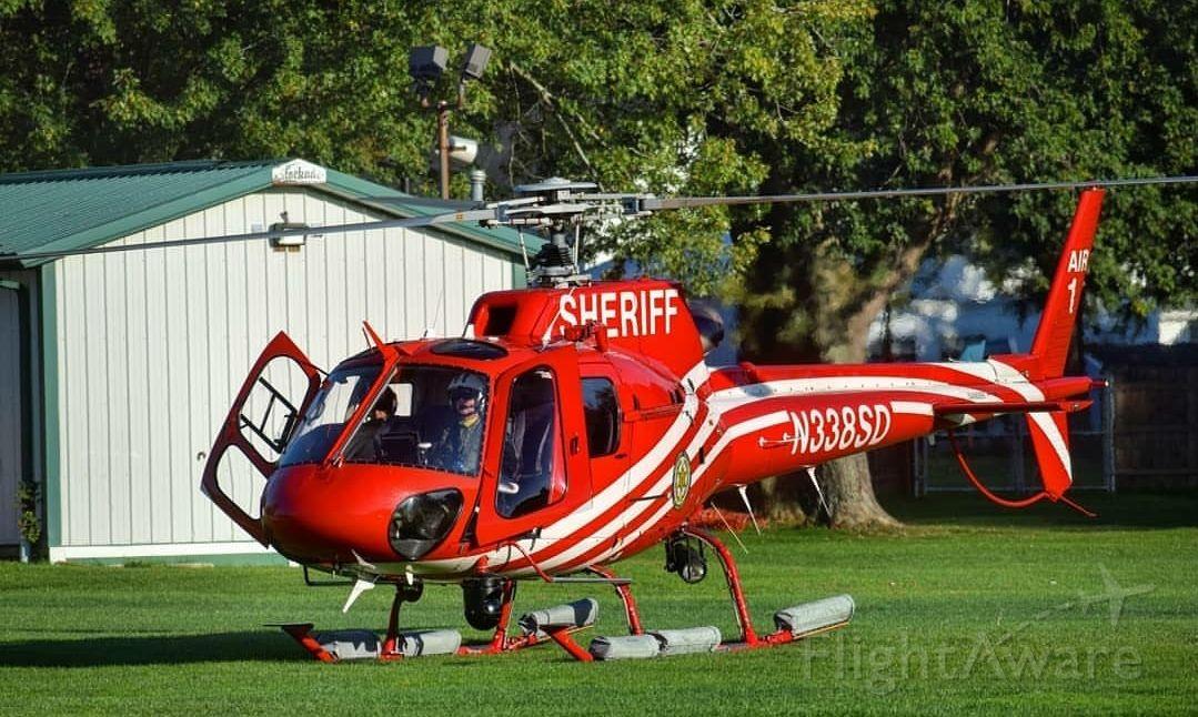 Eurocopter AS-350 AStar (N338SD) - Erie County Sheriff's Office of New York (Air 1)br /Photo Taken September 2017