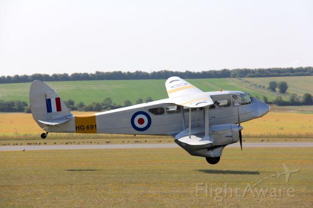 De Havilland Dragon Rapide (G-AIYR) - de Havilland DH-89A<br />Photo: 11.07.2015