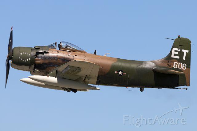 Douglas AD Skyraider (N39606) - Warbirds over Addison