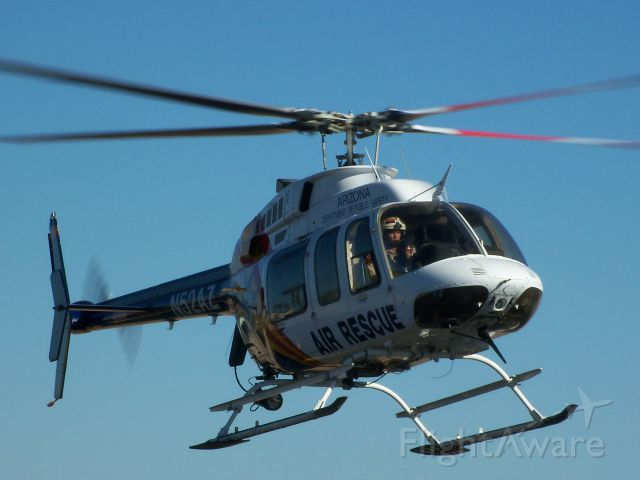 Bell 407 (N52AZ) - I was at a fly-in and this chopper came in!