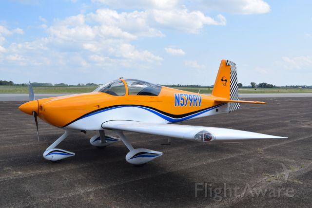 N579RV — - Speedy