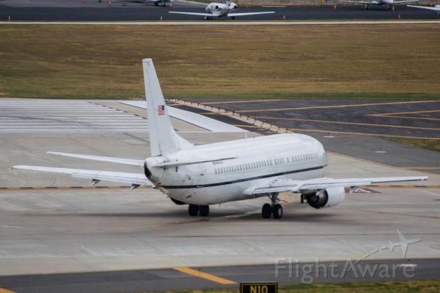 BOEING 737-400 (N640CS) - Holding short runway 4. 9/4/19