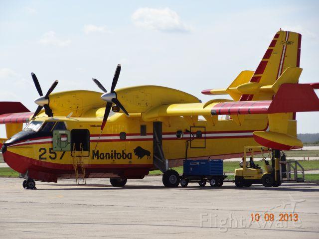 Canadair CL-41 Tutor (C-GMFY) - Airport Gimli (GYGM), Manitoba, Canada
