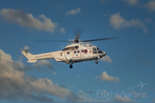 C-FRGB — - 1990 Aerospatiale AS332 owned and operated by Coldstream Helicopters