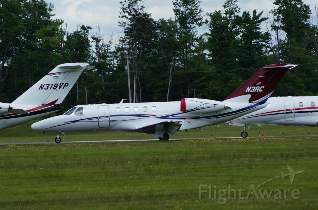 Cessna Citation X (N3RC) - Stopped in at KMPO. Pocono 400 was running.