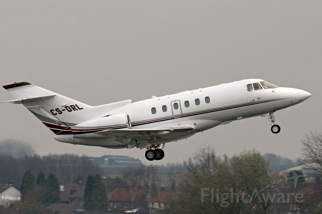 Raytheon Hawker 800 (CS-DRL) - NETJETS TRANSPORTES AEREOS 1000TH picture of me at FLIGHTAWARE!