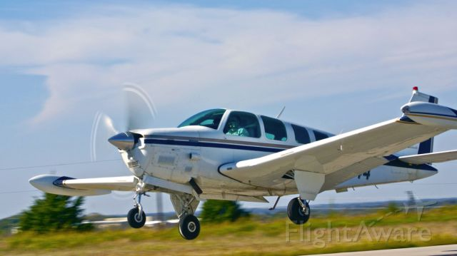 Beechcraft Bonanza (36) (N66444) - Take off from runway 17