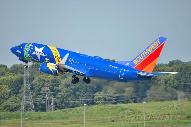 Boeing 737-700 (N727SW) - Shown departing 23-R on 08-25-20