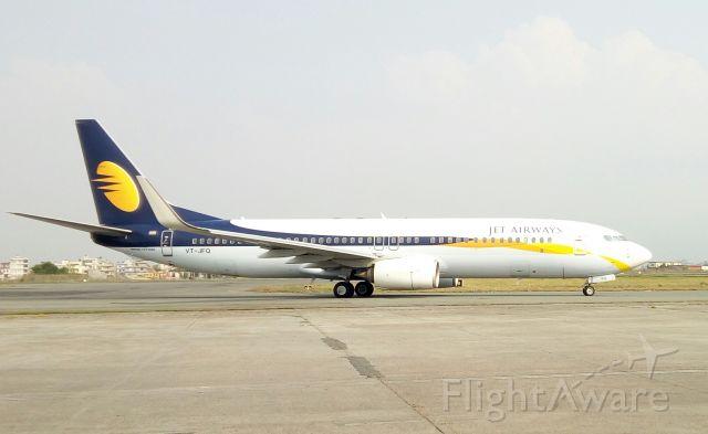 Boeing 737-800 (VT-JFQ)