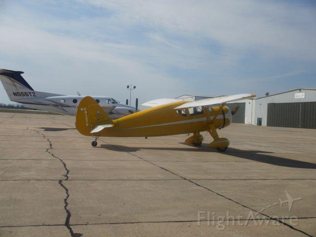 N81279 — - N(C)81279 ,a 1946 Fairchild 24W-46,sits at Joplin Regional on 22 MAR 2015.