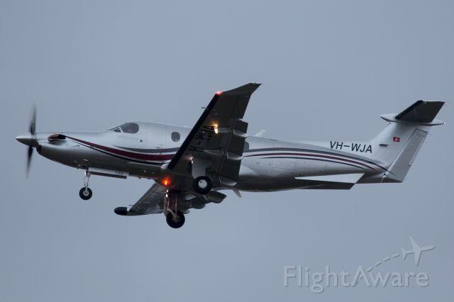 Pilatus PC-12 (VH-WJA)