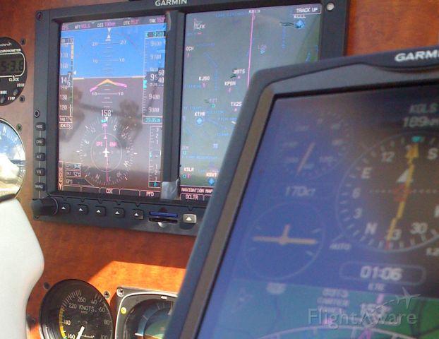 Beechcraft Bonanza (36) (N6136U) - New Garmin G600 w/696, Flight from KHQZ dir KGLS
