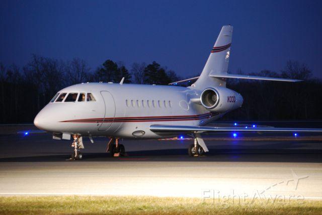 Dassault Falcon 2000 (N33D) - WARBLER I LLC  at KJQF - 2/21/10
