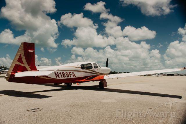 Mooney M-20 Turbo (N189FA)