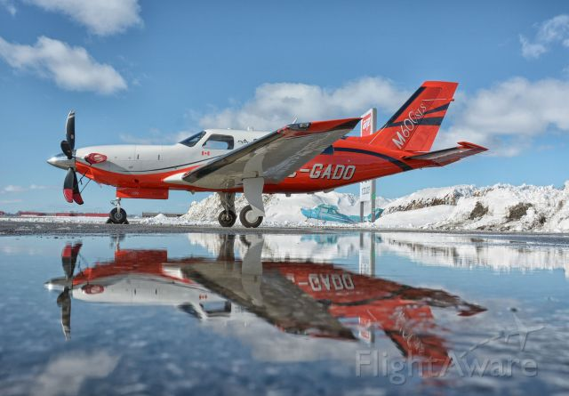 Piper Malibu Meridian (C-GADO) - Visiting CYHU, 25-02-2021