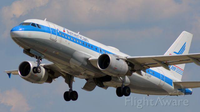 Airbus A319 (N744P) - 7/3/20