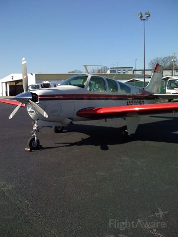 Beechcraft Bonanza (33) (N9363Q) - BEST LOOKING RED HEAD ON THE FIELD
