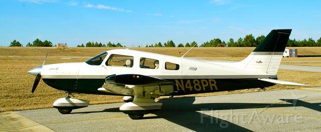 Piper Cherokee (N48PR) - Overlooking RWY 5/23 at KEKY