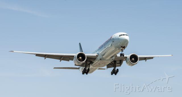 BOEING 777-300 — - Boeing 777 approaching runway 23R at Pearson Intl.