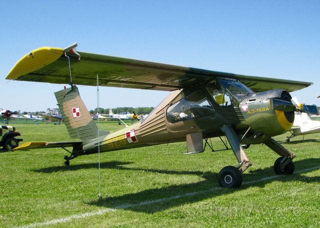 PZL-OKECIE Wilga 80 (N4346M) - At AirVenture.   PZL-Okecie PZL-104 WILGA 80