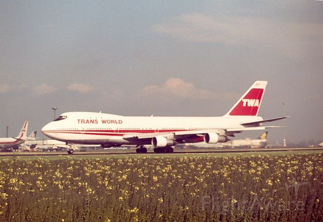 BOEING 747-100 — - Trans World B747-131