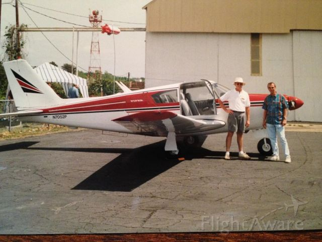 """Piper PA-24 Comanche (N7052P) - (R) Robert """"Bob"""" Keenan - Owner at the time (undated)"""