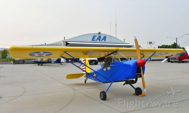Experimental  (N9016Z) - Hohner Graviton N9016Z in Spokane Felts Field