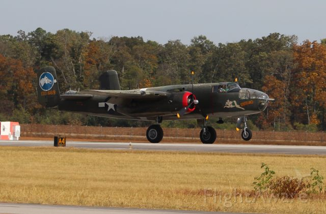North American TB-25 Mitchell (13-0669) - The Collings Foundation
