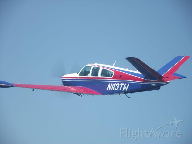 Beechcraft 35 Bonanza (N113TW) - Formation Flying in practice for B@OSH