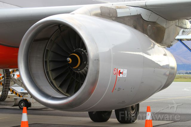 Airbus A320 (VH-VQU) - one of the   IAE V2500's  that powers the A320-232