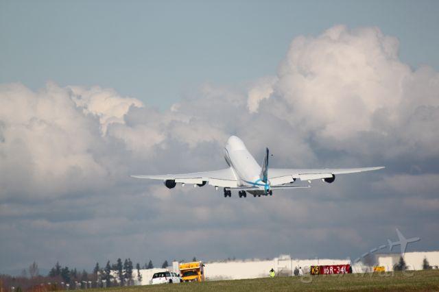 N747EX — - First Flight