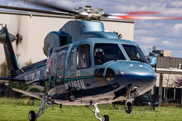 Sikorsky S-76 (N176AM) - AeroMed One returning to KGRR