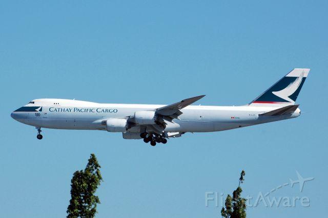BOEING 747-8 (B-LJC) - CX2091 from ATL 8/17/2016