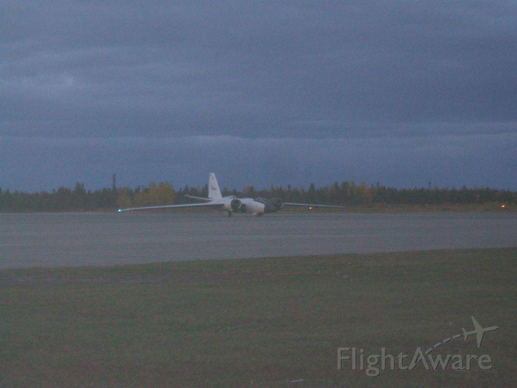 MARTIN WB-57 (N926NA) - NASA  WB-57 taxiing to Hangar at Goose Airport NL.. Oct7/8