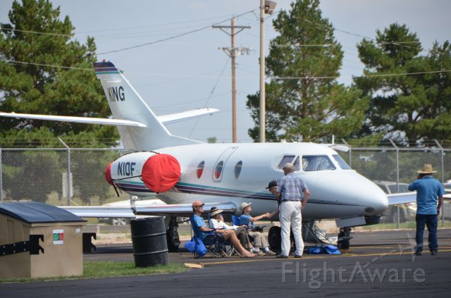 Dassault Falcon 10 (N10F) - Taken 21 Aug 2017<br />In Alliance, NE for the Great American Solar Eclipse!