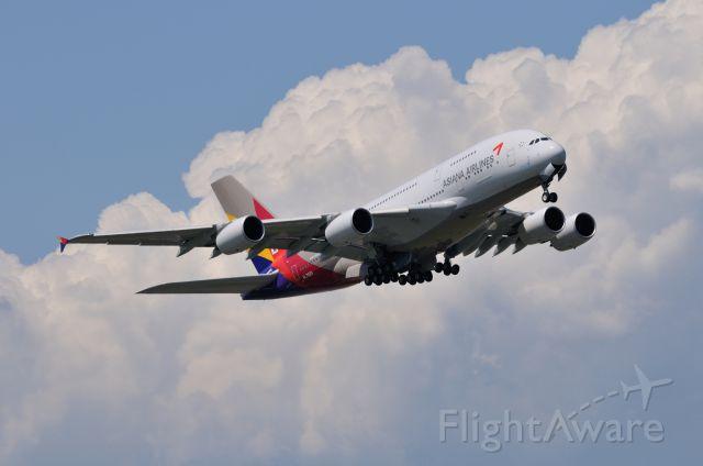 Airbus A380-800 (HL7625) - 2014/6/14