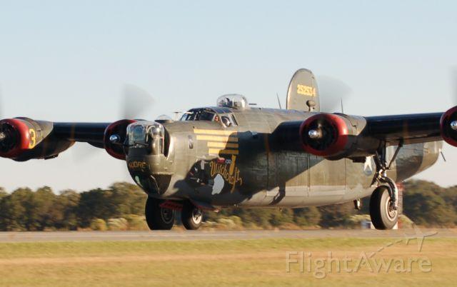 Consolidated B-24 Liberator (NX224J) - DEPARTING 36