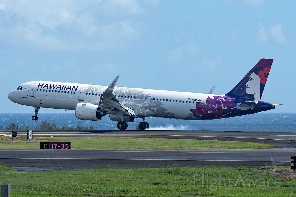 Airbus A321neo (N209HA)