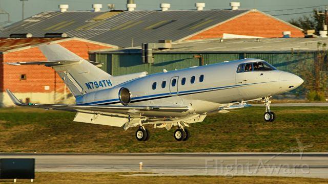 Raytheon Hawker 800 (N794TH) - 22 arrival.