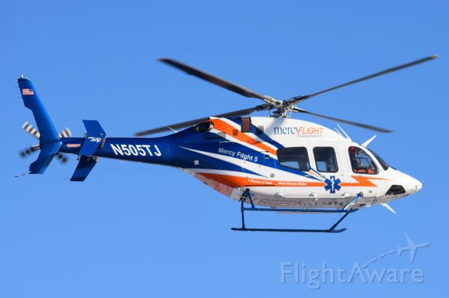 Bell 429 GlobalRanger (N505TJ) - Mercy Flight 5<br />Mercy Flight of Western NY
