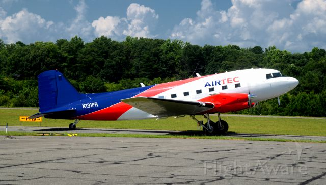 N131PR — - At St.Marys County MD Regional Airport BT-67 preparing to taxi for take off. 7-26-2018