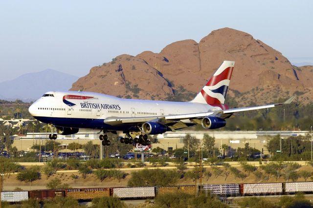 Boeing 747-400 (G-CIVU) - 11/27/2004