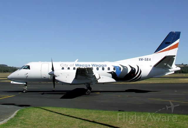 Saab 340 (VH-SBA) - 24 Feb, 2010.