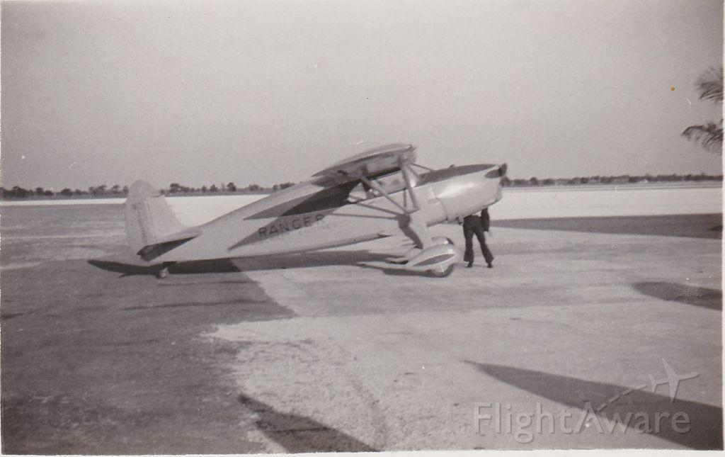 — — - Fairchild F-24 beloning to Ranger Engineering Corp., 1938 Miami Municipal Airport, Miami FL
