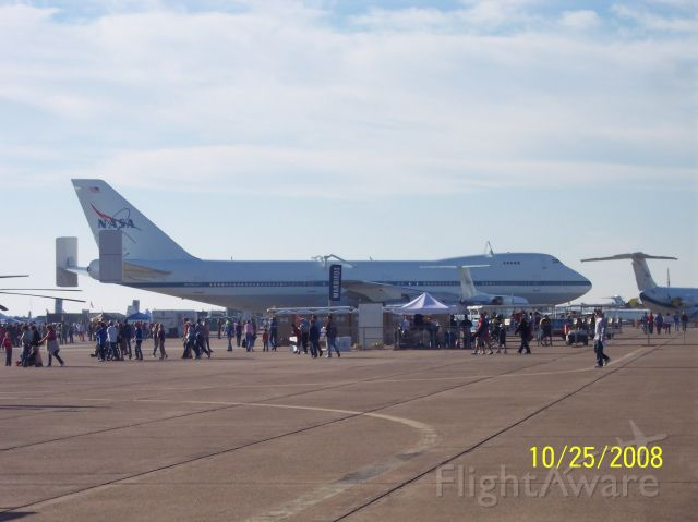 BOEING 747-100 — - Boeing 747-100 on display at Wings Over Houston.