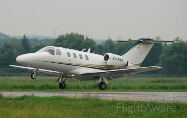 Cessna Citation CJ1 (C-FPWB) - Departure runway 15 at Toronto's (Markham) Buttonville Airport.