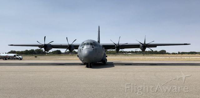 Lockheed C-130 Hercules — - Out of Abilene.